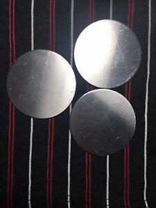 """Aluminum Disc x 8/"""" Diameter .125 Circle 5052 Aluminum 1//8/"""" Round"""