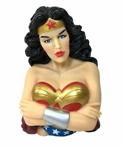 DC-Classic-Wonder-Woman-Molded-Bust-Bank-Figure-Coin-Bank-Marvel-Universe