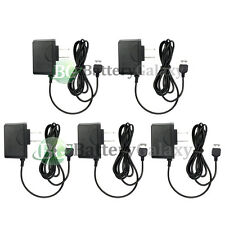 5 Home Wall AC Charger for Samsung u450 Intensity a767 Propel Pro U640 Convoy