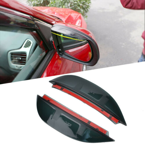 Door Rear View Mirror Rain Guard Visor Shield Shade For Jeep Compass 2017 2018