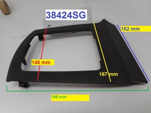 Cornice nera in Pvc supporto contorno cuffia leva del cambio Ford Focus MK2