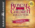 The Boxcar Children Collection Volume 15: The Mystery on Stage, the Dinosaur Mystery, the Mystery of the Stolen Music by Gertrude Chandler Warner (CD-Audio, 2014)