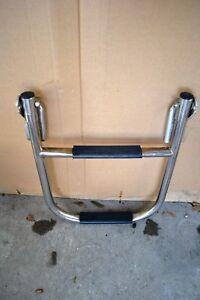 Details about Marine Boat Stainless Steel Single Step Swim Platform Ladder-  Boat Ladder