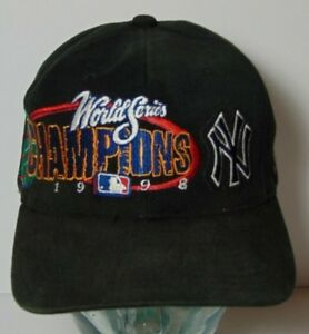 NEW YORK YANKEES 1998 World Series Champs MLB Baseball SNAPBACK HAT ... cc9c366f1bf