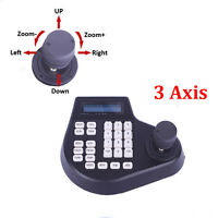 Annke Ptz Controller 3d Axis Joystick Lcd Display Keyboard For Security Camera