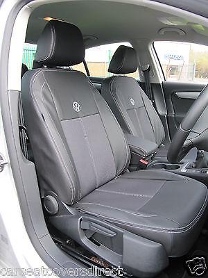Sitzbezüge schwarz vorne PRA VW VOLKSWAGEN AMAROK