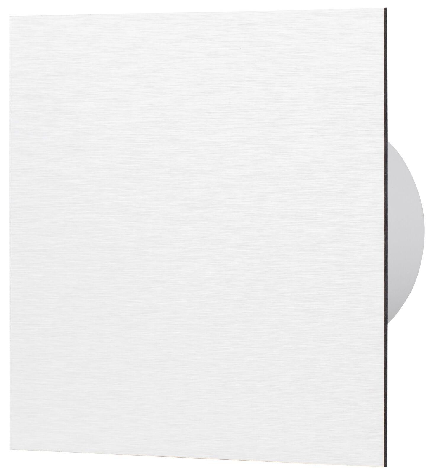 AirRoxy dRim Wohnraumlüfter Badventilator Front ALU silber gebürstet Ø100-125 mm     | Moderne und stilvolle Mode  | Qualität Produkte  | Vogue