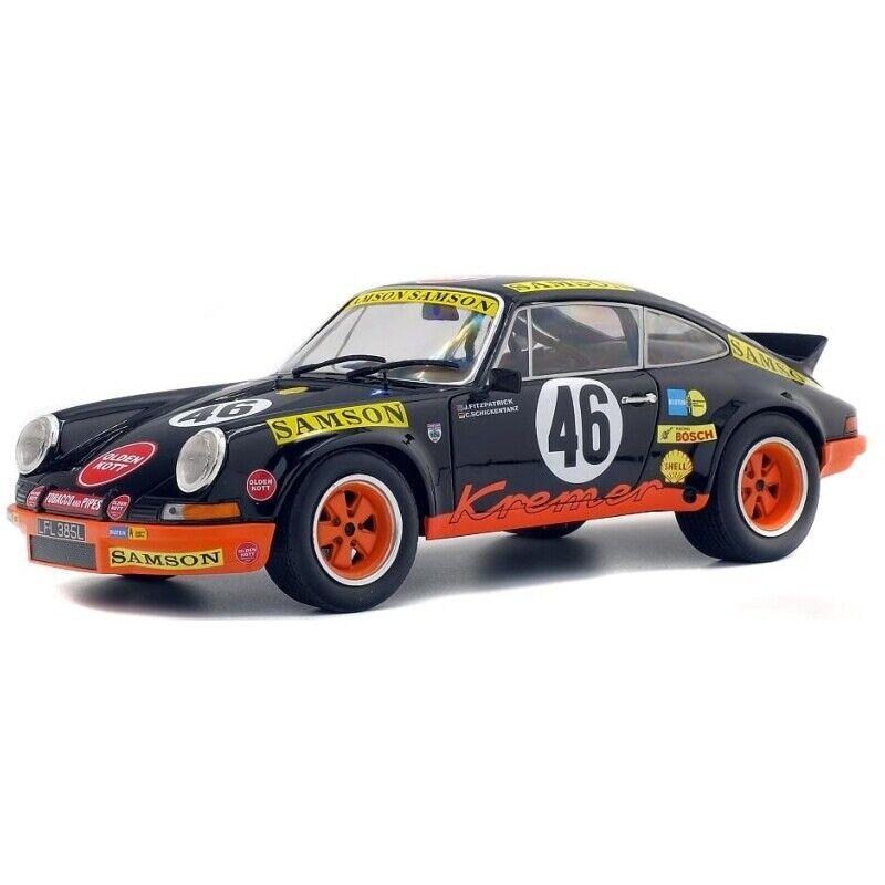 SOLIDO 1 18 AUTO DIE CAST PORSCHE 911 RSR  46 24H SPA 1973 KREMER   ART S1801110
