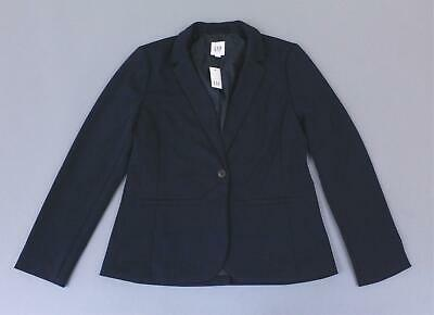 Gap Women/'s Black Classic Ponte Girlfriend Blazer Size 10