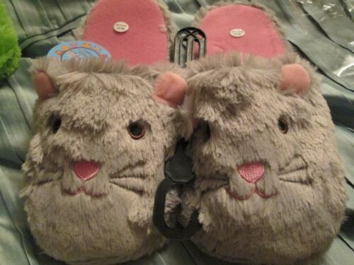 M or L choose 1 Brand New Women/'s Pet-I-Pals Plush Animal Slipper size S