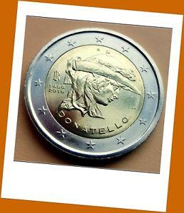 2-Euro-Gedenkmuenze-Italien-2016-550-Todestag-von-Donatello-Neu-Lieferbar