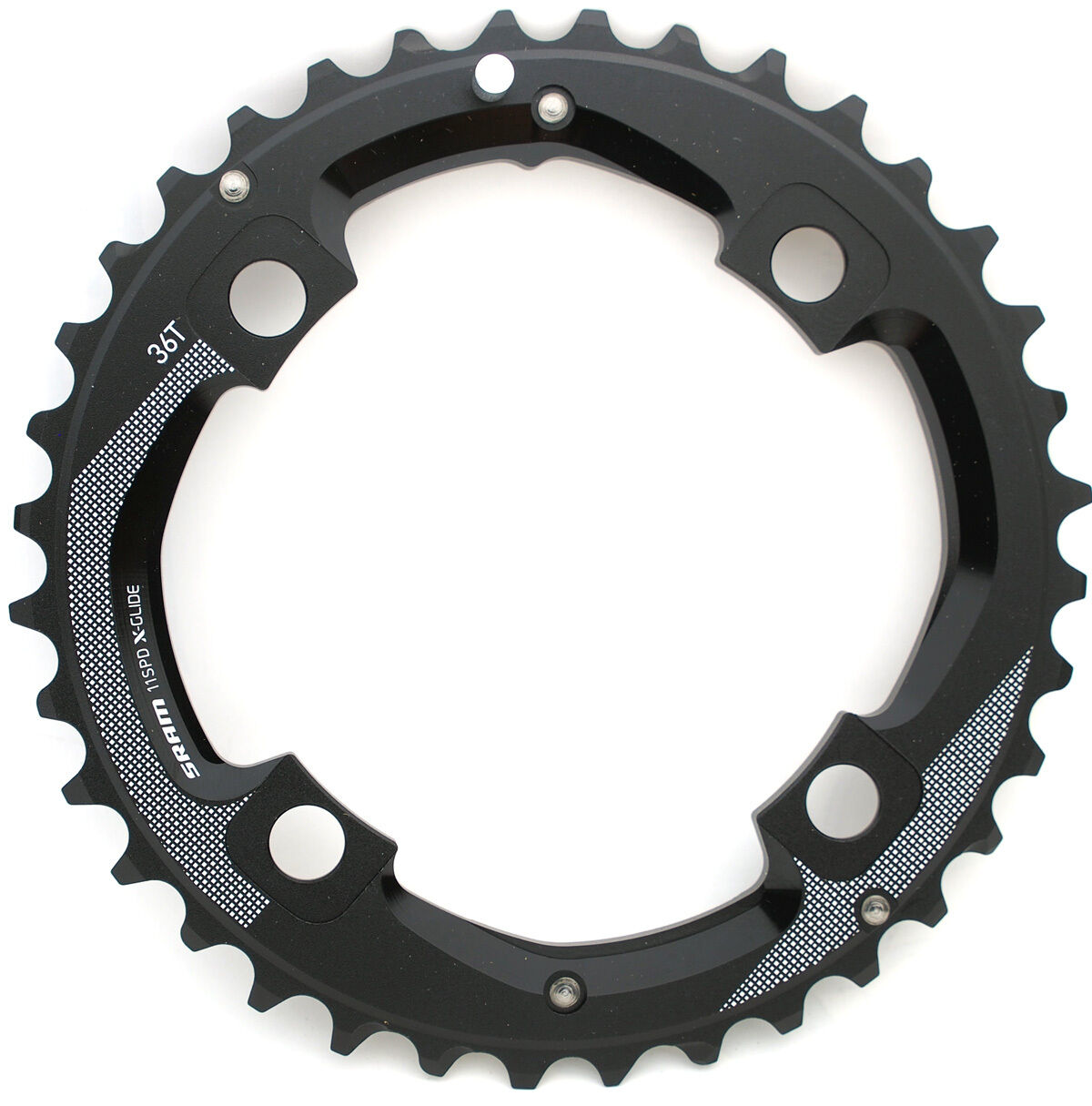 SRAM MTB 36T(Medium Pin)+24T 2x11 Spd Chainring Set BCD 104mm, New In Box