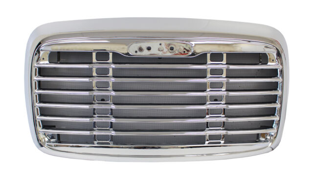 Freightliner Columbia Grille Chrome with Net - Truck Parts