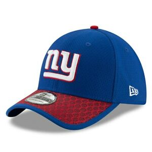 New York Giants New Era 39THIRTY NFL Sideline Men's Fitted Cap Hat - Size: M/L