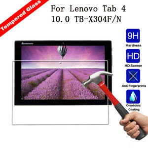 Real Tempered Glass Screen Protector Cover For Lenovo Tab 4 10.0 TB-X304F/N HD