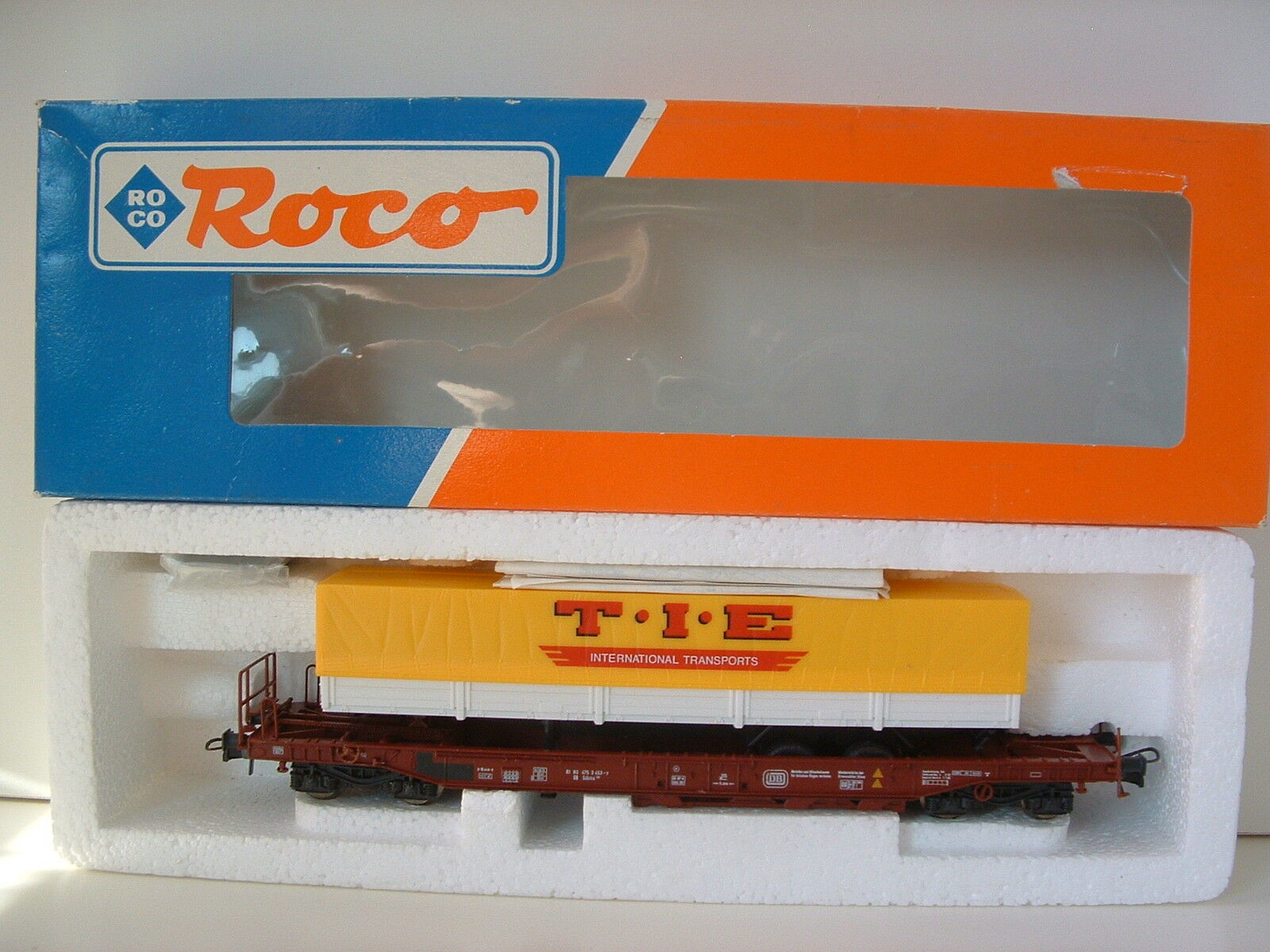 Roco h0 46362 einheitstaschenwagen db  t.i.e.  ovp m355