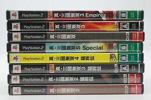 Shin-Sangoku-Musou-Dynasty-Warriors-Games-Lot-PS2-Japan-Import-USA-Seller