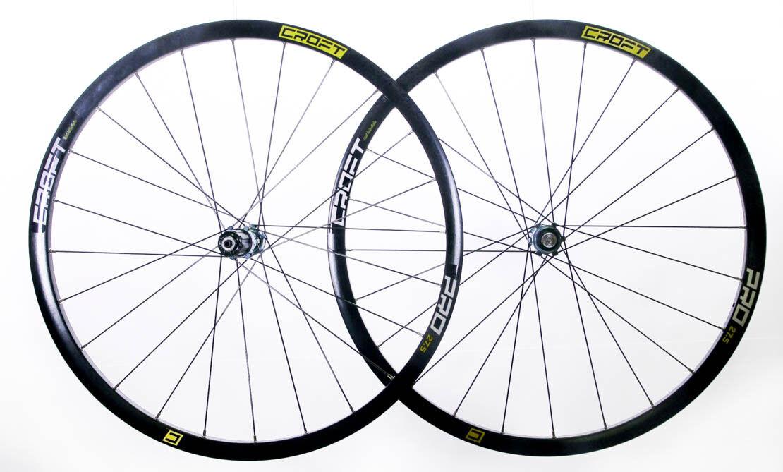 Croft Pro 27.5  650B Mountain Bike Wheelset Shimano SRAM 7-11s CL Disc QR NEW