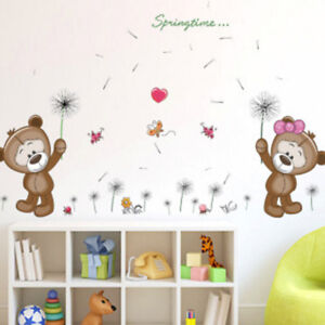 Image Is Loading Removable Vinyl Wall Decal Nursery Stickers Kids Baby