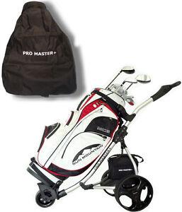 Promaster Plus Carrello da Golf Elettrico Pieghevole - Bianco