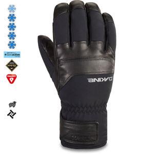 2020-Men-039-s-Dakine-Excursion-Short-Leather-Gore-Tex-Ski-Gloves-Size-9-Lrg-Black