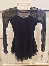 WOW! Black Classic Style figure skating dress, NWT