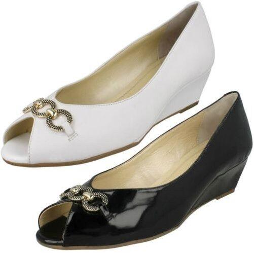Femmes Van Dal Tampa Élégant Bout Ouvert Chaussures