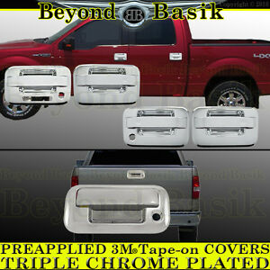 2004 2014 Ford F150 Chrome Door Handle W Keypad W Psk 4door