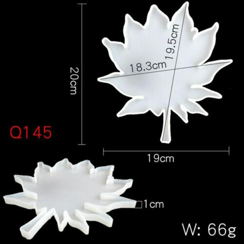 Maple Leaf Coaster Jewelry Resin Epoxy Mold Palm Molds Handmade Silicone Mould