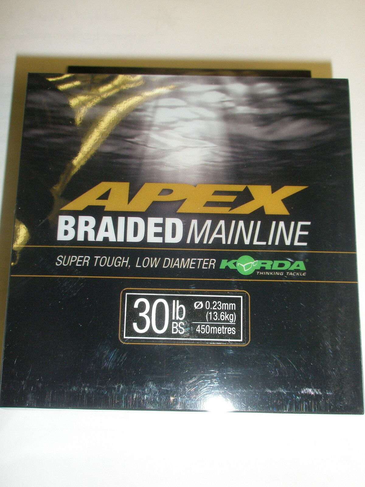 Korda Apex Braided Mainline ALL VARIETIES Carp fishing tackle