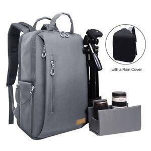 Image Is Loading Auelife Camera Bag Waterproof Multipurpose Anti Shock Dslr
