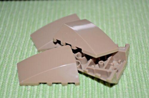 4x4 Dark Tan Tapered Nose pcs Bricks ~ Lego ~ NEW ~ Star Wars 4