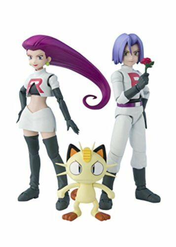 Figuarts Team Rocket Pokemon bandai Japan NEW  Figure F//S w//Tracking# SH S.H