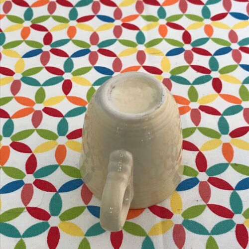 Fiestaware Ivory Demi Cup Fiesta Retired AD Demitasse CUP ONLY