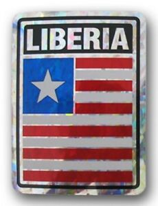 Wholesale Lot 12 Liberia Country Flag Reflective Decal Bumper Sticker - Charleston, South Carolina, United States - Wholesale Lot 12 Liberia Country Flag Reflective Decal Bumper Sticker - Charleston, South Carolina, United States