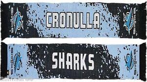 NRL-Cronulla-Sharks-Splash-Design-Jacquard-Supporter-Scarf