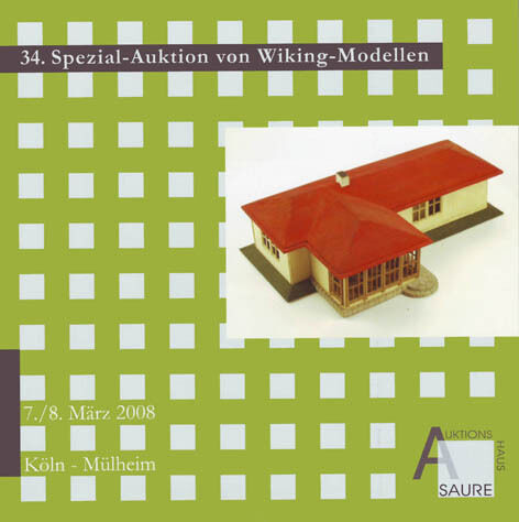 Auktionskatalog 34.Wiking-Auktion