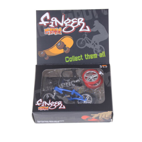 Mini Finger BMX Fahrrad Flick Trix Finger Bikes Spielzeug Neuheit Gag KinderCRH