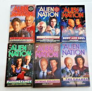 Vintage 1990s Alien Nation Paperback Book Collection —> Your Choice