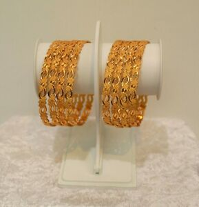 Indian-Traditional-Partywear-Trendy-Gold-Plated-Bangle-Jewellery-for-women
