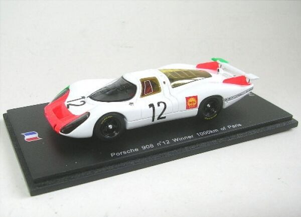 Porsche 908  No. 12 Winner 1000km of Paris 1968  nouvelle exclusivité haut de gamme