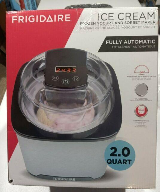 Frigidaire Stainless Steel Ice Cream, Frozen Yogurt and Sorbet Maker