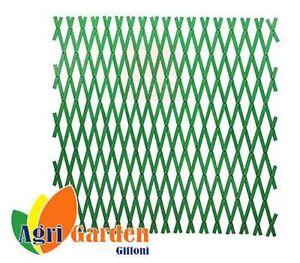 Tralicci Estensibili Per Piante Rampicanti Mt 1x2 Verde Ebay