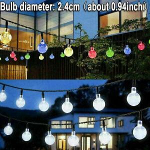 21FT-Outdoor-String-Lights-30-LED-Solar-Bulb-Patio-Party-Yard-Garden-Wedding-Lot
