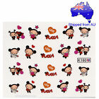 Pucca Girl Nail Art Water Transfer Decal