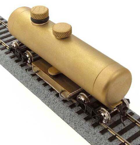 """CMX HO Brass Track Cleaning Car /""""Clean Machine/"""" Complete MODELRRSUPPLY $5 Offer"""