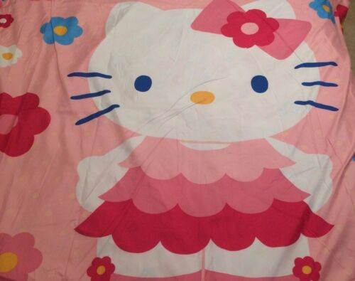 Hello Kitty Fabric Comforter Cover Shell Girl Bedding Bedroom Reversible Twin