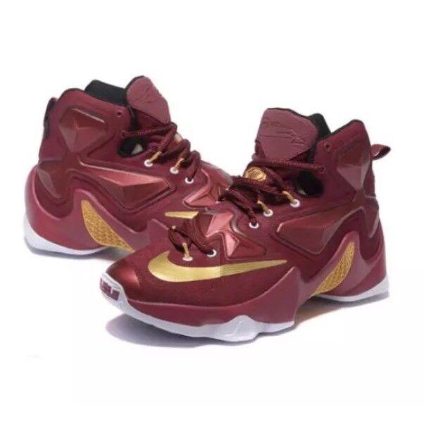 Nike xiii sz merletto alte scarpe da ginnastica rossi sz xiii 9 5897 e54654