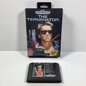 The-Terminator-Sega-Genesis-1991-Case-amp-Cartridge-Only-No-Manual-Tested