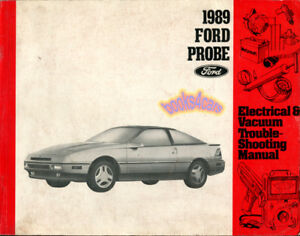 shop manual probe service electrical repair 1989 ford book haynes rh ebay com 1989 Ford Probe Turbo 1994 Ford Probe